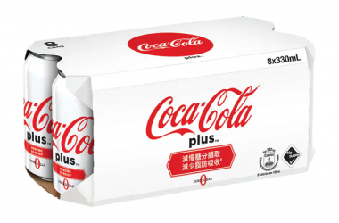 COCA-COLA PLUS 8X330ML1
